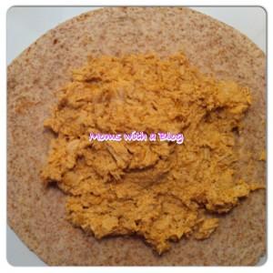 Baked chimichanga