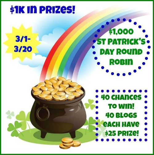 St. Patrick's Day Giveaway