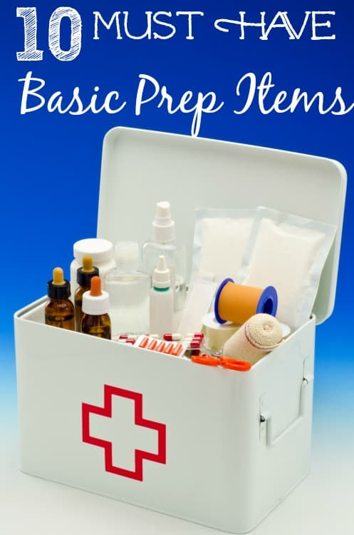 Must have Basic Prep items