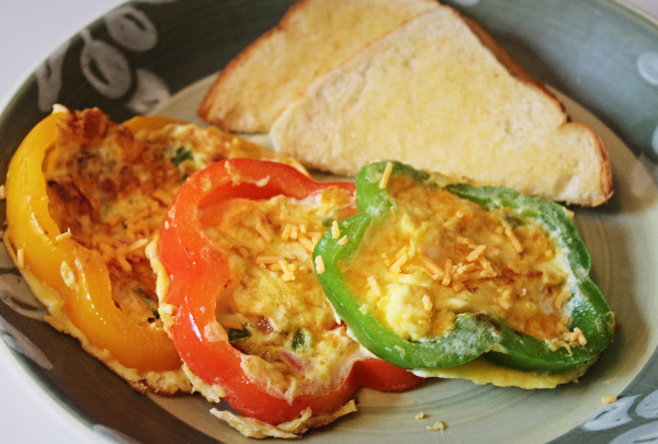 Pepper omlete