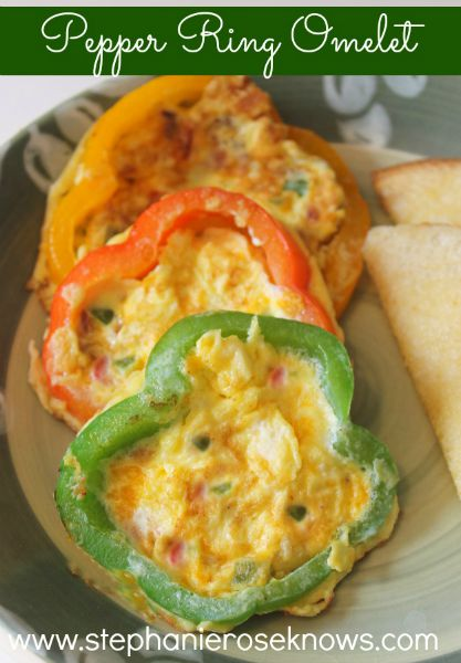 Pepper Ring Omelet
