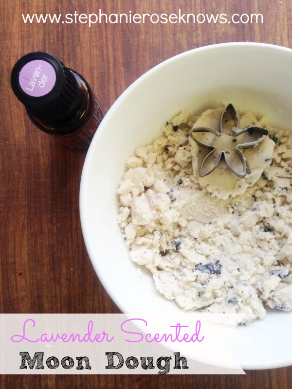 Lavender Scented Moon Dough