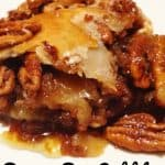 Pecan Pie Cobbler is a delicious dessert recipe everyone will love! | Pecan Dessert | Easy Dessert |Cobbler Recipe