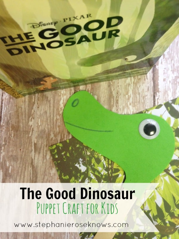 Arlo The Good Dinosaur Puppet