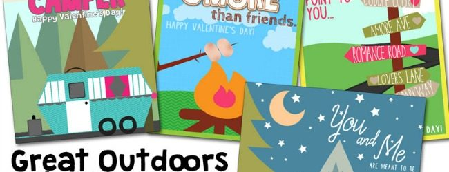 Great Outdoors Valentines