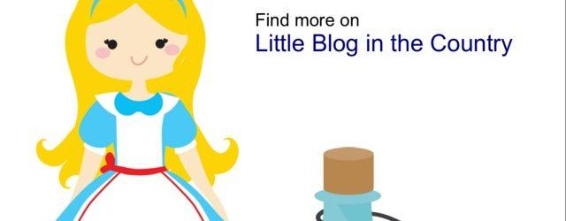 Alice in Wonderland Free Printable Pack