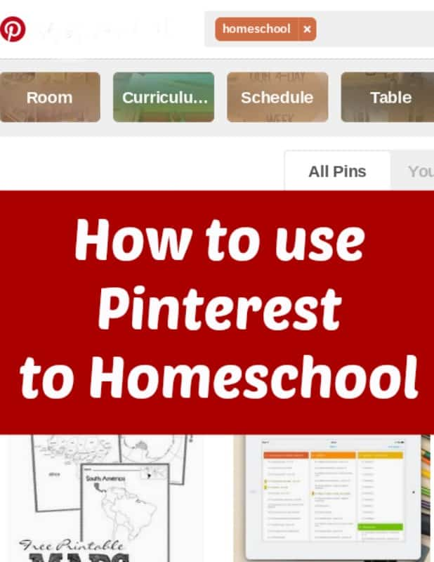 How to use Pinterest to Homeschool
