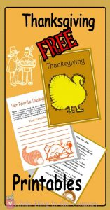 Thanksgiving Printable Unit Study