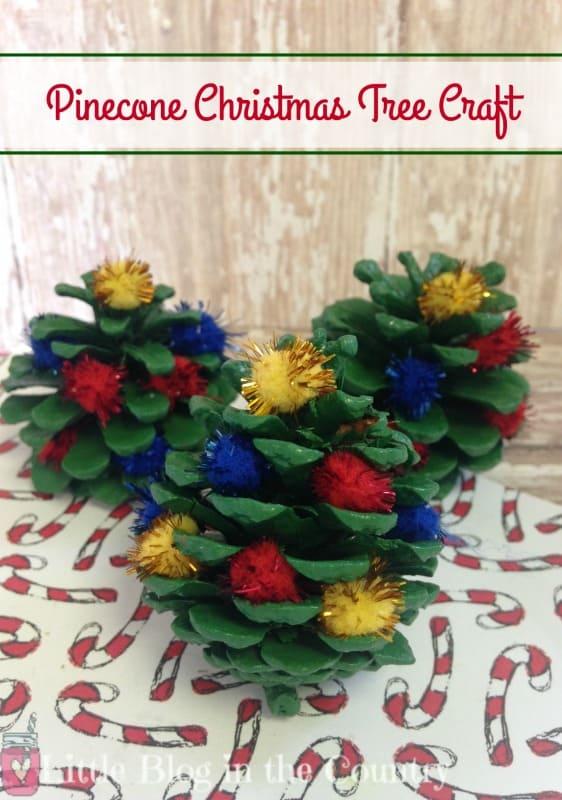 pinecone-christmas-tree-craft