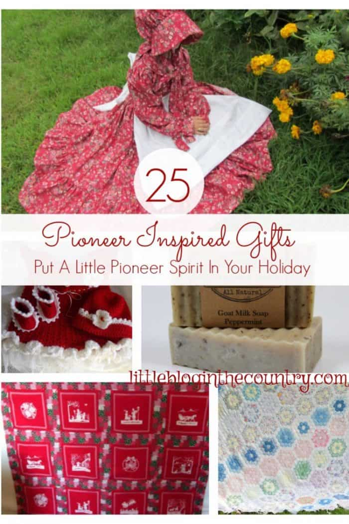 Pioneer christmas gifts little blog in the country Country christmas gifts to make