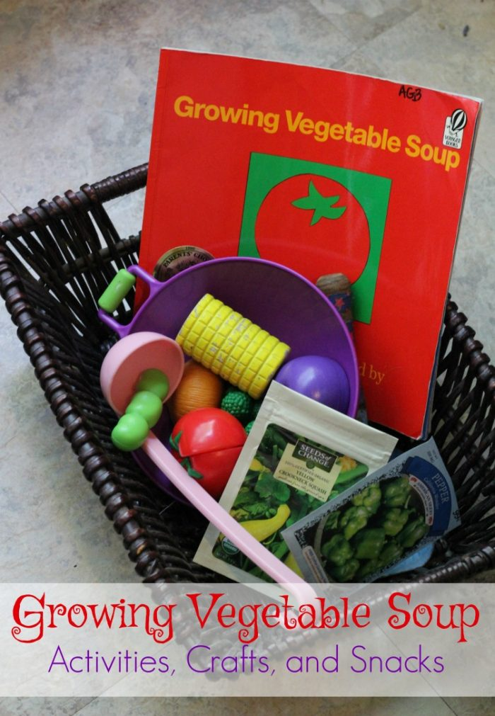 Growing Vegetable Soup Book Based Activities